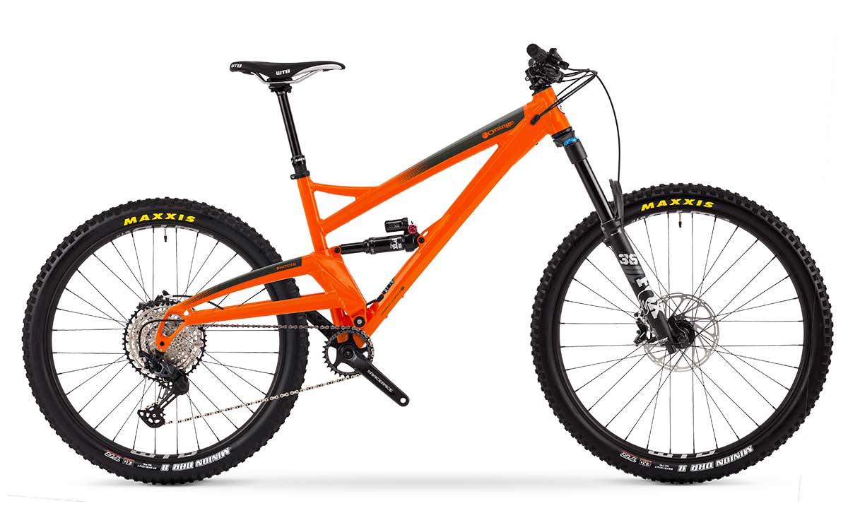 2021 orange Switch 6 Pro mtb